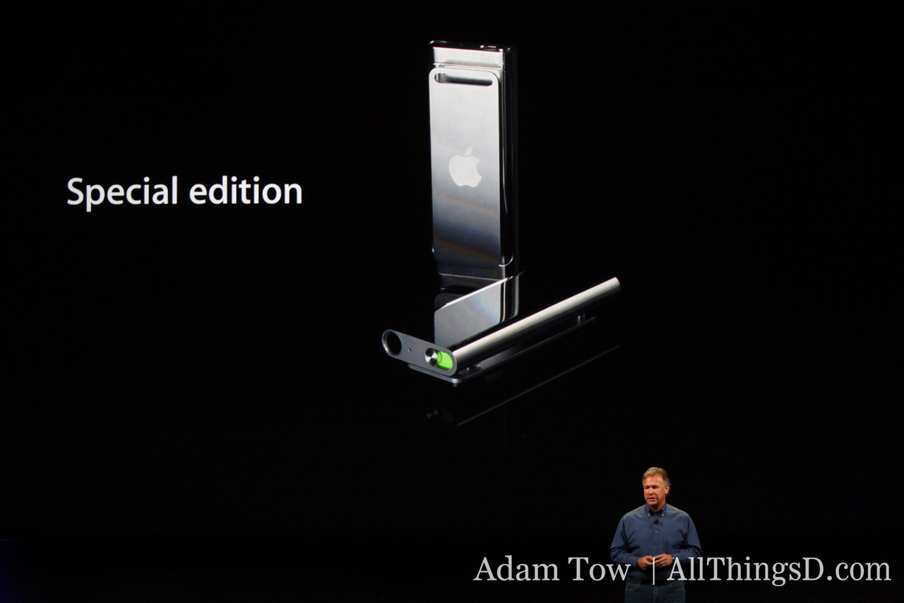 There's a special edition, too, in stainless steel.