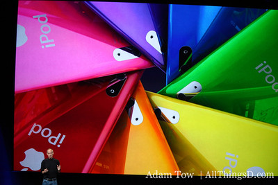 The Nano is available in a range of anodized aluminum colors.
