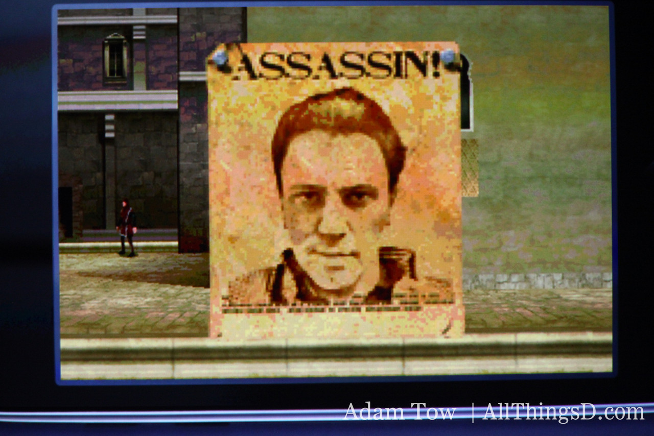A screenshot from Assassin's Creed.