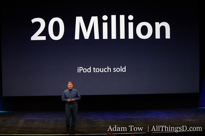 20 million iPod Touches sold.
