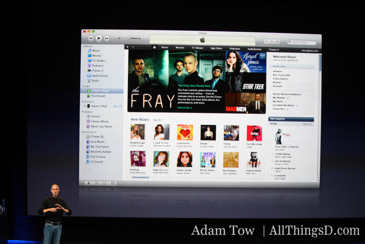 First look at iTunes 9.
