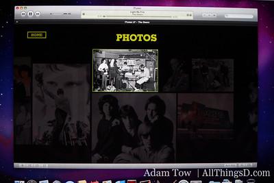 Photos, videos, extra tracks on iTunes LP.