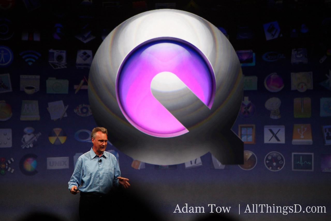 Bertrand Serlet, SVP of Software Engineering at Apple.