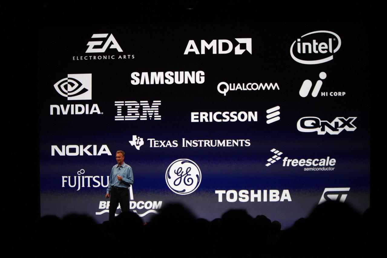 Bertrand Serlet, SVP of Software Engineering, speaks about Apple partners.