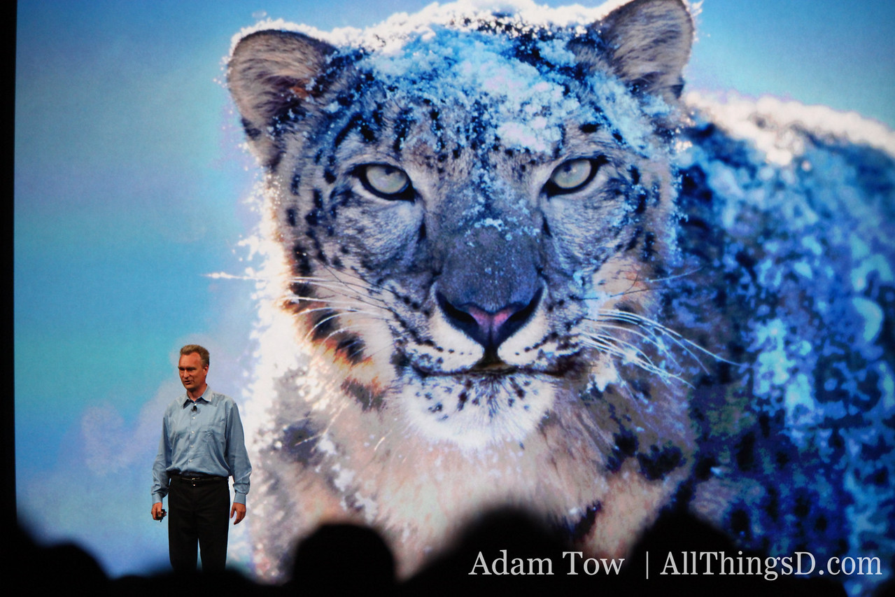 Bertrand Serlet, Apple's SVP of Software Engineering, talks about Snow Leopard.