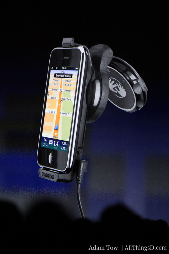 TomTom Car Kit also keeps your phone charged.