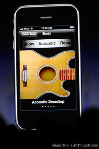 Software for guitar amplifier modeling app is impressive -- allows users to control effect, tuning and volume.