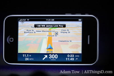 TomTom Car Kit: uses iPhone 3.0's accessory framework to offer a hands-free experience.