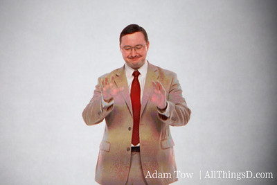 John Hodgman as PC, welcoming attendees to WWDC and encouraging developers to slow down iPhone app development.