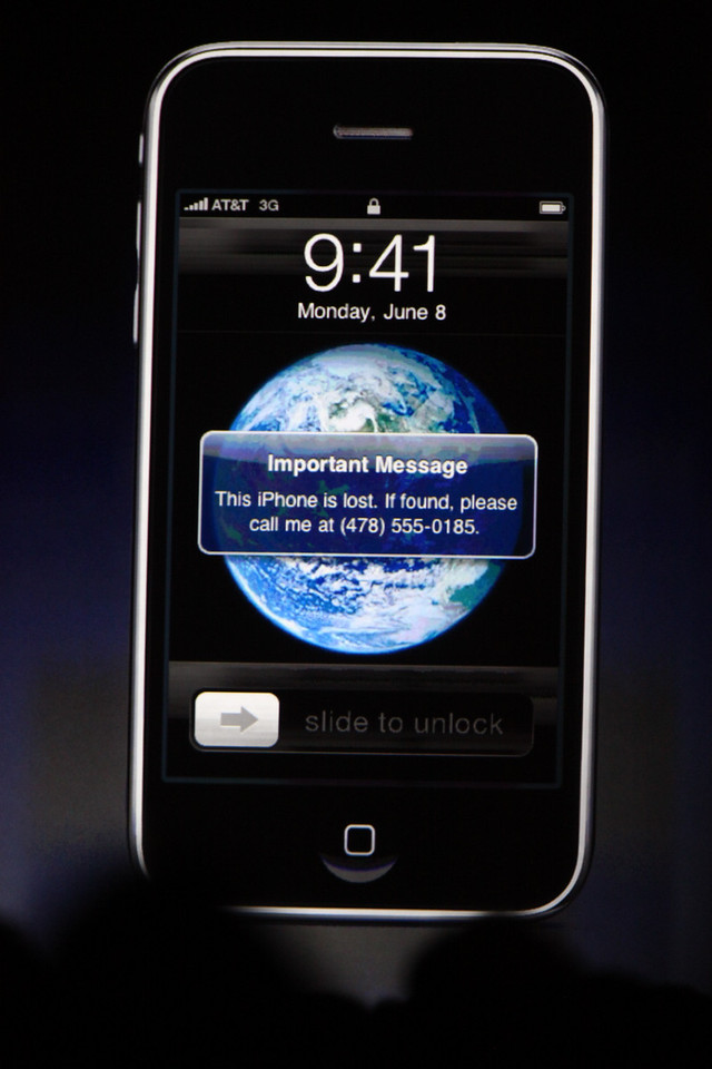 """The new """"Find My iPhone"""" app."""