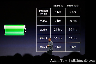 CEO Phil Schiller describes enhancements to the iPhone 3Gs.