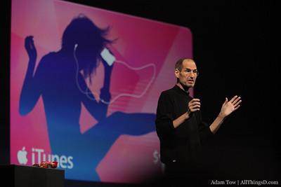 Steve Jobs on iTunes.