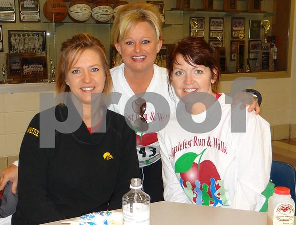 Phyllis Rogers, Wendy Teske, and Sarah Johnson.