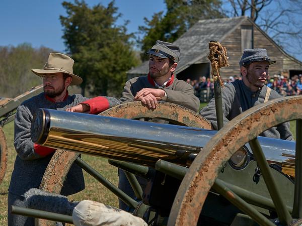 Appomattox 150th Anniversary Surrender Reenactment