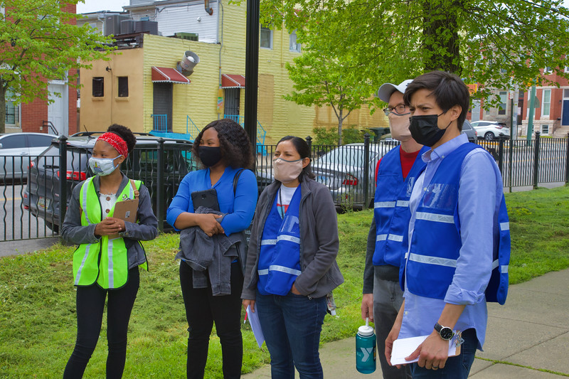 April 24, 2021 - Canvassing with MIMA volunteers and CASA