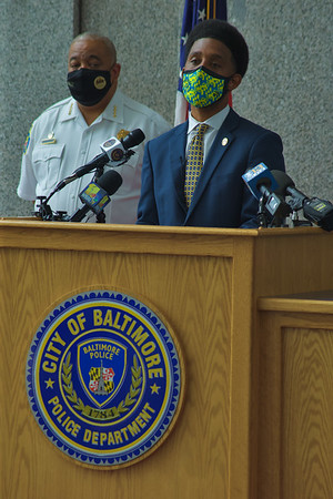 April 28, 2021 - Press Conference at Baltimore City Police Department Headquarters