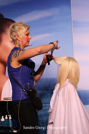 Aquage artistic Team at Armstrong Mc Call Fashion Focus Hair Show in Corpus Christi; Texas. May 2014. Photo by Sandro Giorgi