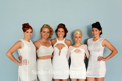 Aquage models.  Aquage artistic Team at Armstrong Mc Call Fashion Focus Hair Show in Corpus Christi; Texas. May 2014. Photo by Sandro Giorgi