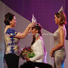 Davao City Mayor Sara Duterte-Carpio crowned 21-year-old Marianne Mae Te as Mutya ng Dabaw 2012.