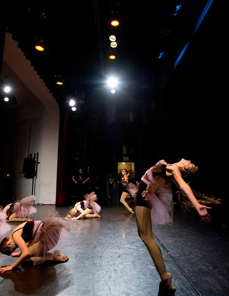 Performers dance onstage during the 10th Annual Dance Recital presented by Studio 48 on Friday at the WYO Theater.