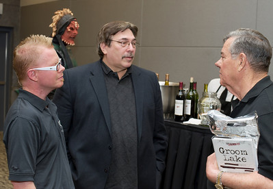 Photograph of Lee Speigel in the middle talking at Area 51 Exhibit as it opens at National AtomicTesting Museum in Las Vegas, NV in this photo. Lee Speigel wrote a great article on George Knapp and extraterrestrial materials at http://www.huffingtonpost.com/2012/03/22/area-51-russian-roswell-ufo_n_1373352.html by UFO expert Lee Speigel, reach Lee at lee.speigel@huffingtonpost.com More Lee Speigel articles: UFO Encounter Revealed After Almost 40 Years By Ex-Military Pilot: Exclusive - http://main.aol.com/2012/04/03/ufo-encounter-pilot_n_1405945.html