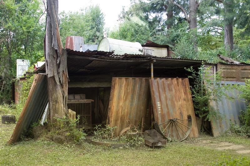 Iron shack