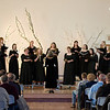 The Chadron State College Arioso women's choir sings during its concert Nov. 11. (Photo by Justin Haag)