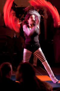 Performer in the Friday night Circus.