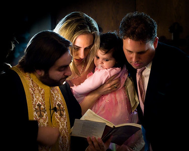 Aristia's Baptism - 02.22.09