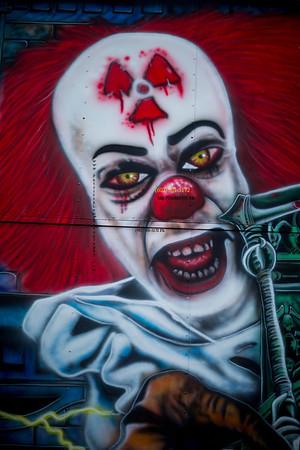 psycho clown 1453