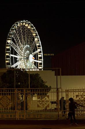 Ferris wheel from Street 1657