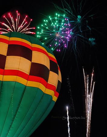 Fireworks Phoenix Balloon Fest 7076 7070 7130 composite cf PatL