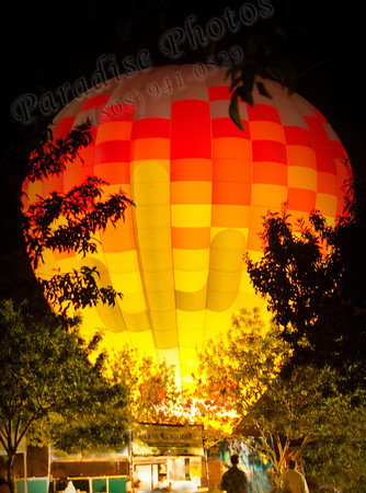 Yellow Red Balloon w flame 1150