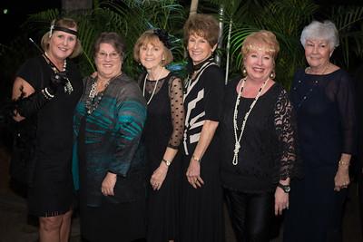 Doris Nolan, Mary Morton, Becky Sellers, Linda Sanders, Kay Parker, Dorothy Vaughn