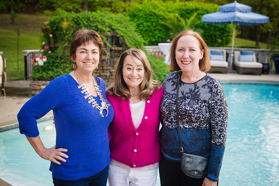 Nancy Kahn, GIna Pharis & Camille Williams