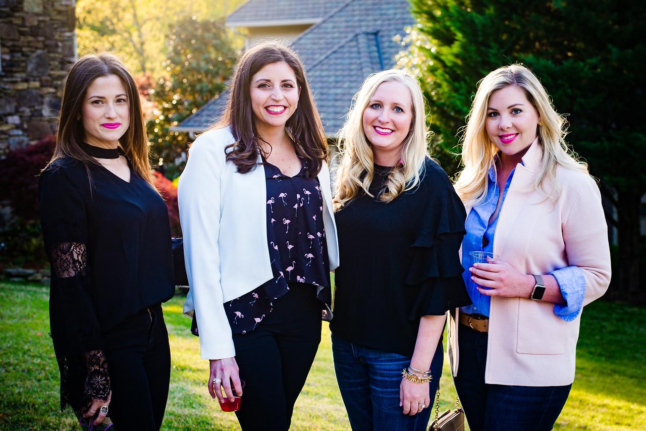 Lauren Green, Mara McDonald,  Sarah Hays, & Jenny Miller