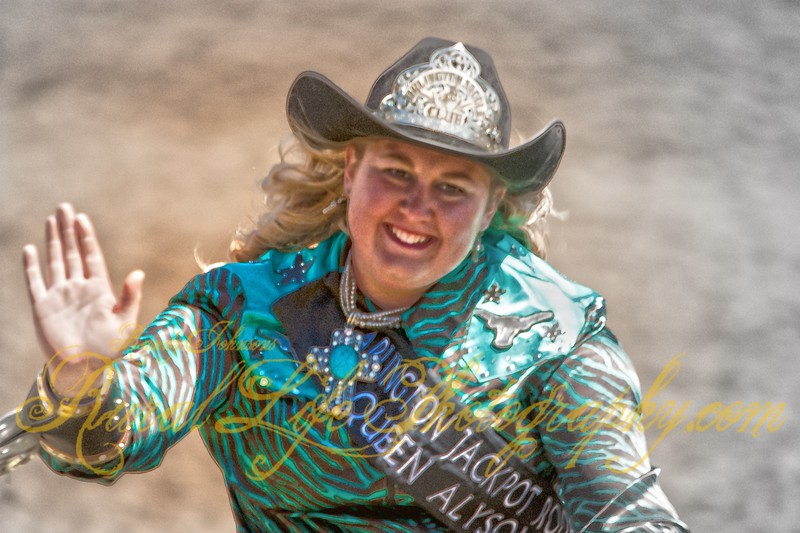 Arlington Jackpot Rodeo Queen Alyson