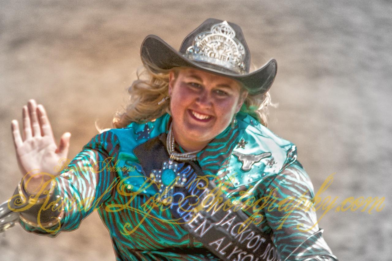 Arlington Jackpot Rodeo Queen Alyson