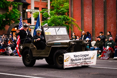 """Armed Forces Torchlight Parade 2019 """"We are Spokane"""""""