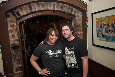 Jessica and Matt of Arnold's Friday night -