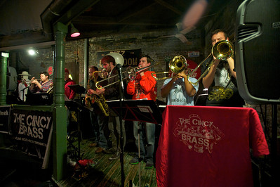 Cincy Brass perform Friday night at Arnold's