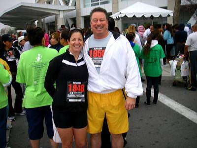 Arrowhead Medical Center Diabetic Fitness Awareness 5K Run-Walk, Colton CA March 14, 2009