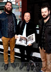 Apr 23, 2014 SEI Spring Cocktail Party~Artist Long-Bin Chen @ Kimmel Center