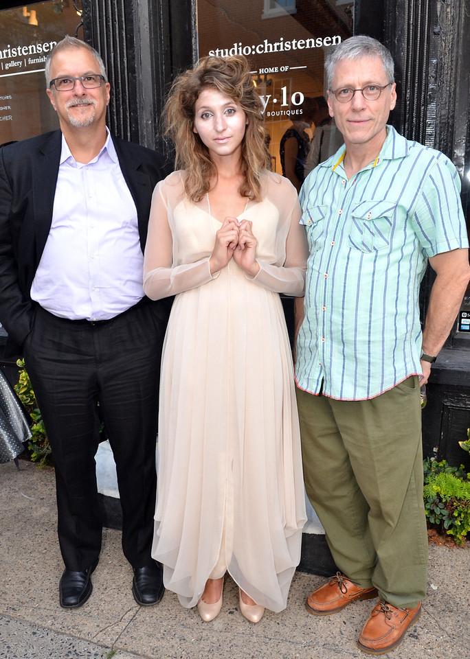 Allen Kuharski, Ivona (Heather Cole) & Richard Lou