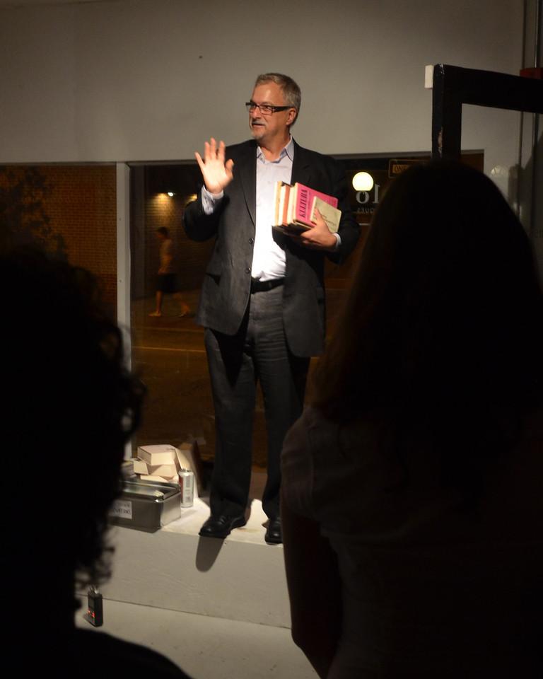 Dr. Allen J. Kuharski speaks