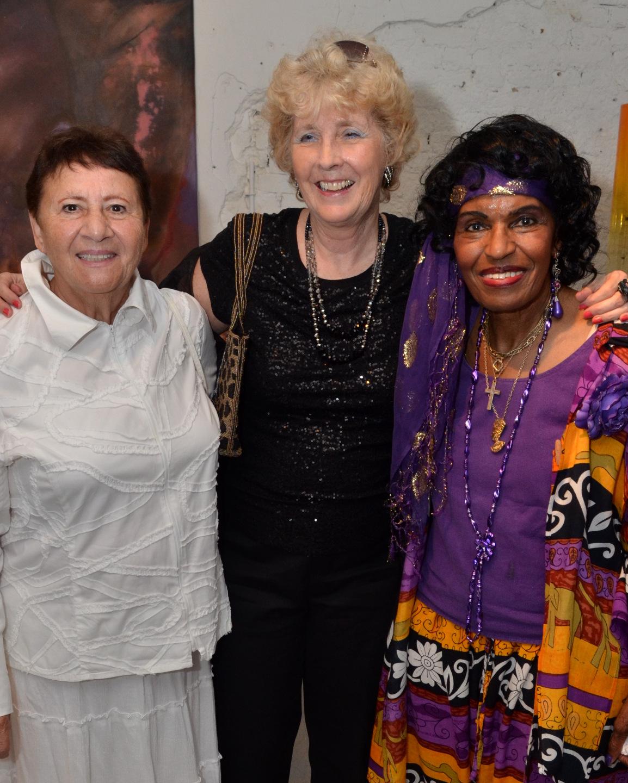 Jeanne George, Pat Lewis & Elena L. Verzieri