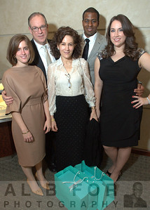 The Hume family (Eric, Lenora and Allison) with Tyron and Lydia Jeffress
