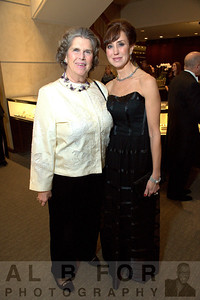 Wistie Miller (Bryn Mawr) and Sephanie Brandow (President, Volunteer Committees for The Philadelhia Orchestra)