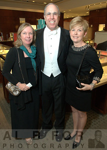 Carol Spinelli (The Central Committee, Treasurer) and Stephen Spinelli Jr., Ph.D (President of Philadelphia University) with Nancy Galloway (The Central Committe First Vice-Chair)