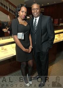Milikah Upchurch (Askmissa.com) with Earl Harvey